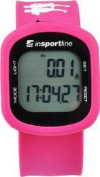 inSPORTline Krokomierz elektroniczny Strippy Różowy (8124-2)