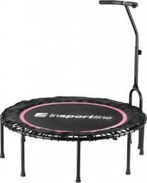 inSPORTline Profesjonalna Trampolina fitness z uchwytem Cordy JUMPING FITNESS Kolor Różowy (14401-1)