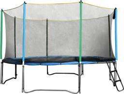 inSPORTline Trampolina z siatką zabezpieczającą i drabinką Top Jump 305cm (TJ761)