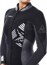 JOBE Kurtka damska neoprenowa Porto Jacket czarna r. XL (303817250)