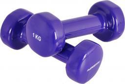 inSPORTline Hantle fitness winylowe 2 x 1 kg (176)