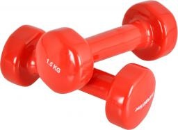 inSPORTline Hantle fitness winylowe 2 x 1.5 kg (177)