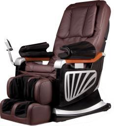 inSPORTline Fotel do masażu Masseria Kolor ciemny brązowy (4473-2)