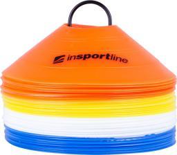 inSPORTline Zestaw Plastikowe pachołki treningowe 40 sztuk (13207)