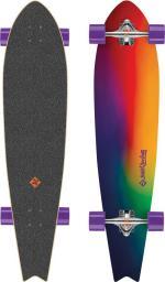 "Deskorolka Street Surfing Longboard Fishtail - Sunset Blur 42"""