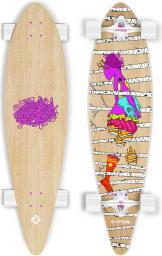 "Deskorolka Street Surfing Longboard Pintail - Woods 40"" (STR0609003)"