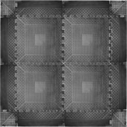 inSPORTline Mata pod sprzęt amortyzująca puzzle (2384)