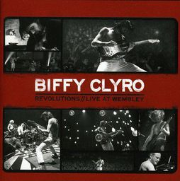 POP BIFFY CLYRO REVOLUTIONS//LIVE AT WEMB. (CD + DVD)