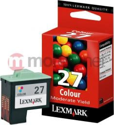 Lexmark tusz 27 Kolor 10NX227E