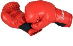 inSPORTline Rękawice bokserskie czerwone r. 12oz (1863)