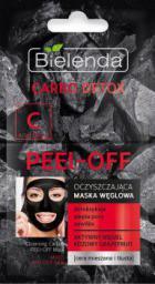 Bielenda Carbo Detox Maska węglowa oczyszczająca peel-off  2x6g