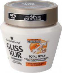Schwarzkopf Gliss Kur Total Repair Maska do włosów suchych i zniszczonych  300ml