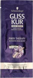 Schwarzkopf Gliss Kur Fiber Therapy Maska do włosów przeciążonych  20ml