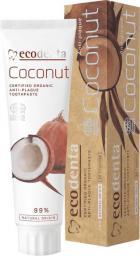 ECODENTA  Organic Pasta do zębów Coconut przeciw kamieniowi  100ml