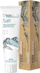 ECODENTA  Organic Pasta do zębów Salt  do wrażliwych zębów 100ml