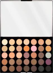 Makeup Revolution Pro HD Palette Amplified 35 Zestaw cieni do powiek Neutrals Warm 30g