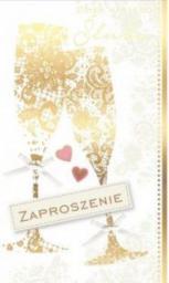 KUKARTKA Zaproszenie ślubne (PMZ-021)