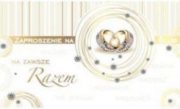 KUKARTKA Zaproszenie ślubne (PMZ-022)