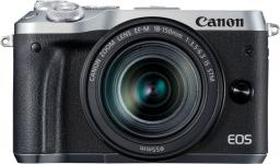 Aparat Canon EOS M6 + obiektyw EF-M 15-45mm (1725C012AA)
