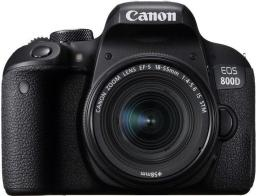 Lustrzanka Canon EOS 800D BK 18-55 IS STM (1895C002AA)
