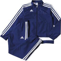 Adidas Dres reprezentacyjny Tiro 15 Junior Granatowy, Rozmiar 128 (S22279*128)