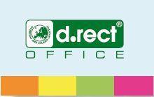 D.Rect Zakładki indeksujące papierowe kartonik (240518)