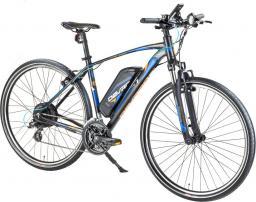 Devron Crossowy rower elektryczny 28161 - model 2017 Kolor Czarny, Rozmiar ramy 19