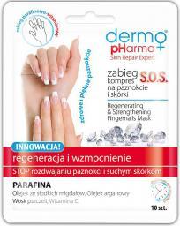 Dermo Pharma Zabieg-kompres na paznokcie i skórki S.O.S  10 szt.