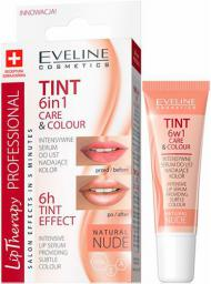 Eveline Lip Therapy Professional 6w1 Care&Colour Tint Serum do ust Nude 12ml