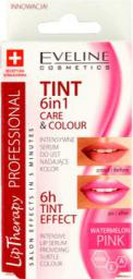 Eveline Lip Therapy Professional 6w1 Care&Colour Tint Serum do ust Pink 12ml