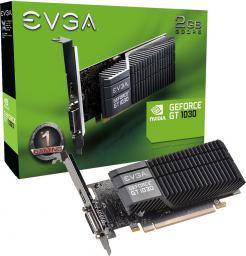 Karta graficzna EVGA GT 1030 SC LP 2GB GDDR5 (64 bit), DVI-D, HDMI, BOX (02G-P4-6332-KR)