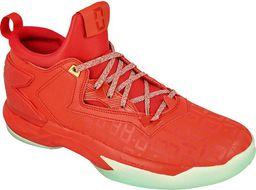Adidas Buty koszykarskie Damian Lillard 2.0 czerwone r. 42 2/3 ( B72728)