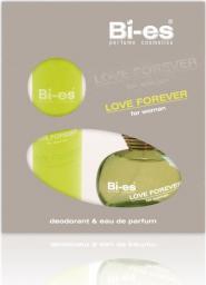 Bi-es Love Forever Zielona Komplet Woda toaletowa + Dezodorant
