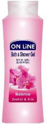 On Line Płyn do kąpieli i Żel pod prysznic 2 w 1 Balance Orchidea Silk 750 ml