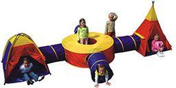 Namiot dziecięcy z tunelem i wigwamem 7 w 1 8905