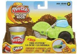 Hasbro Play-Doh Pojazd Budowlany Zielony