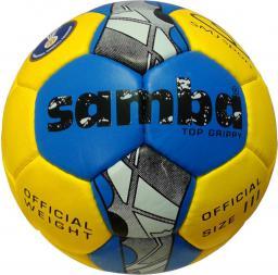 SMJ sport Piłka ręczna Samba Top Grippy IHF 3