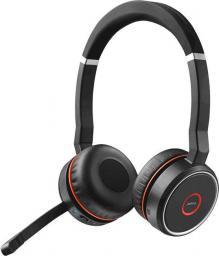 Słuchawki z mikrofonem Jabra Evolve 75 UC Duo (7599-838-199)