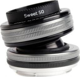 Obiektyw Lensbaby 50mm f/2.5 Canon (LBCP250C)