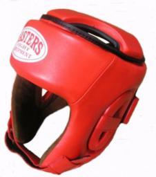 Sport Masters Kask bokserski KTOP-1 czerwony r. L