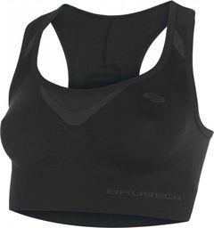 Brubeck Biustonosz Fitness Crop Top czarny r. M (CR10070)