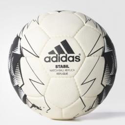 Adidas Piłka ręczna Stabil Replique AP1565 biało-czarna r. 1 (05062)