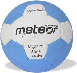 Meteor Piłka ręczna Magnum Męska niebieska r. 3 (04059)