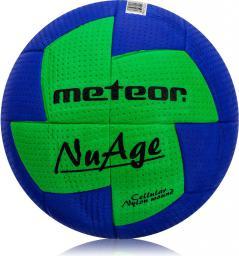 Meteor Piłka ręczna Nuage Damska niebiesko-zielona r. 2 (04067)