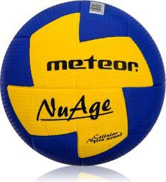 Meteor Piłka ręczna Nuage damska niebiesko-żółta r. 2 (04066)