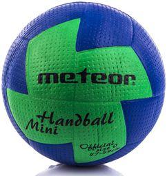 Meteor Piłka ręczna Nuage Mini niebieska-zielona r. 0 (04070)