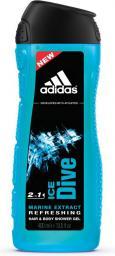 Adidas Ice Dive Żel pod prysznic i szampon do włosów 2w1 250ml