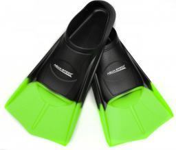 Aqua-Speed Płetwy treningowe czarno-zielone (37-38)