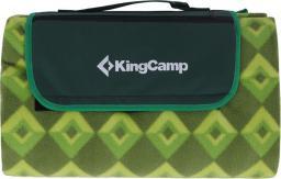 King Camp Koc piknikowy zielony 200x178cm (80090)