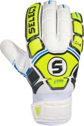 Select Rękawice bramkarskie HAND GUARD biało-żółte r. 8